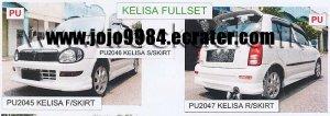 Perodua Kelisa New Skirting(PU)