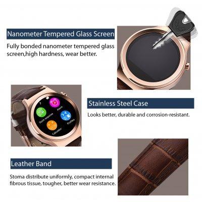 Smart watch (Black, Gold, White)