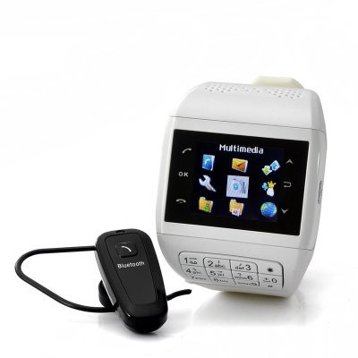 Mobile phone watch with keypad