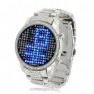 Blue Crystal watch