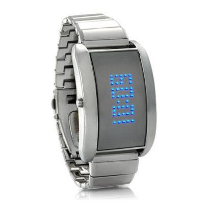 Metal Alloy LED Watch