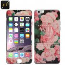 Front & Rear temper glass for iphone 6 4.7 inches