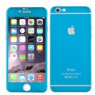 Iphone 6 & 6S 4.7 temper glass, titanium back, scartch and shatterproof (blue)