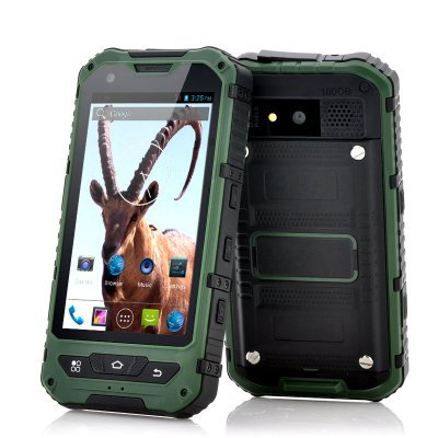 4 inch Rugged Dust, Shock, and Waterproof Phone