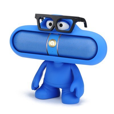 Bluetooth Blue doll speaker