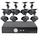 8 Camera Surveillance Kit - 8 Outdoor CCTV Cameras, H264 DVR, 1TB (2nd Generation)