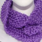 Kids Purple bulky scarf