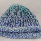 Kids blue and green hat