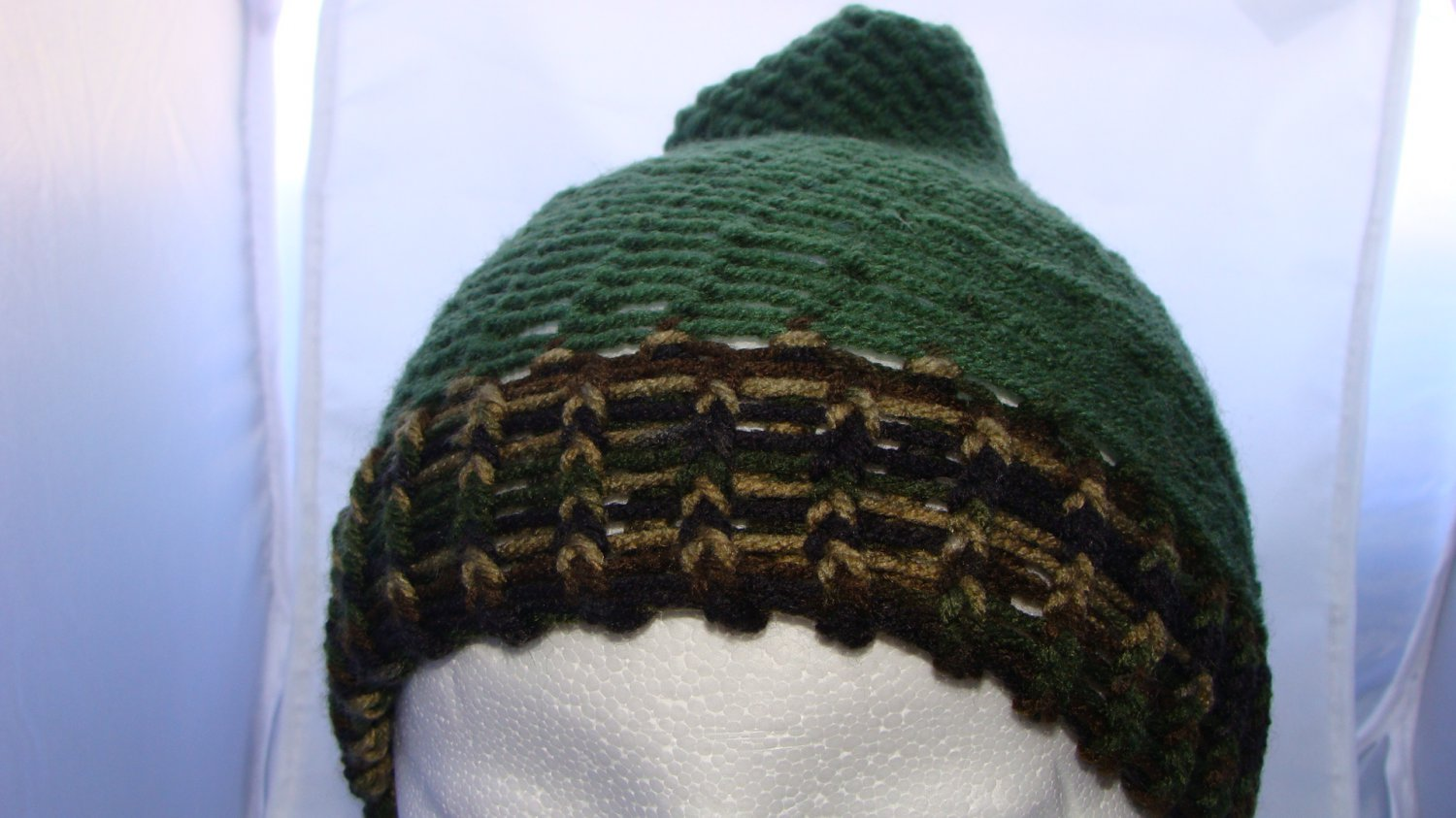 Adult Green and camo hat