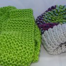 Kids Bright and fun hat scarf combo