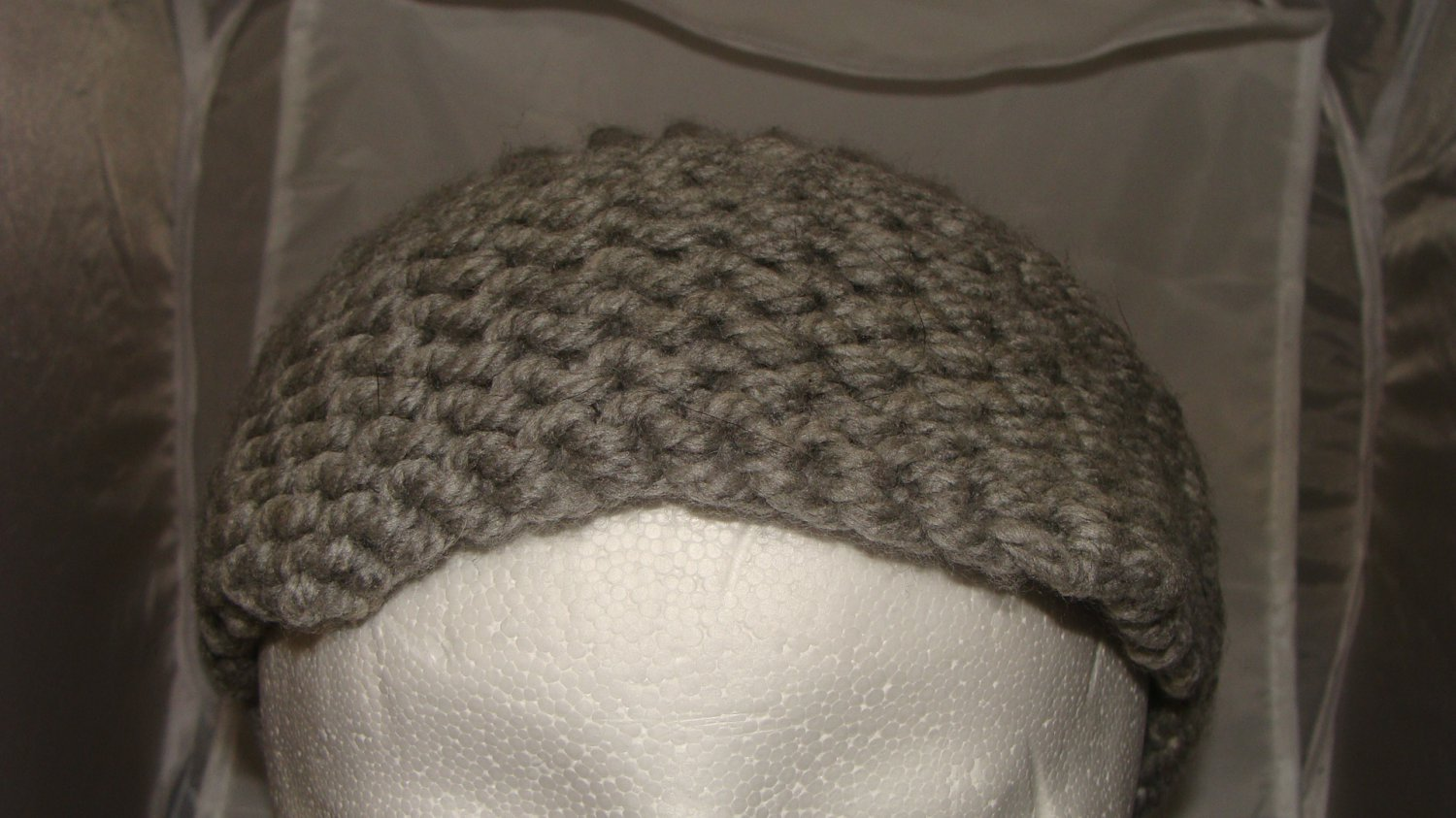 Adult Grey bulky hat