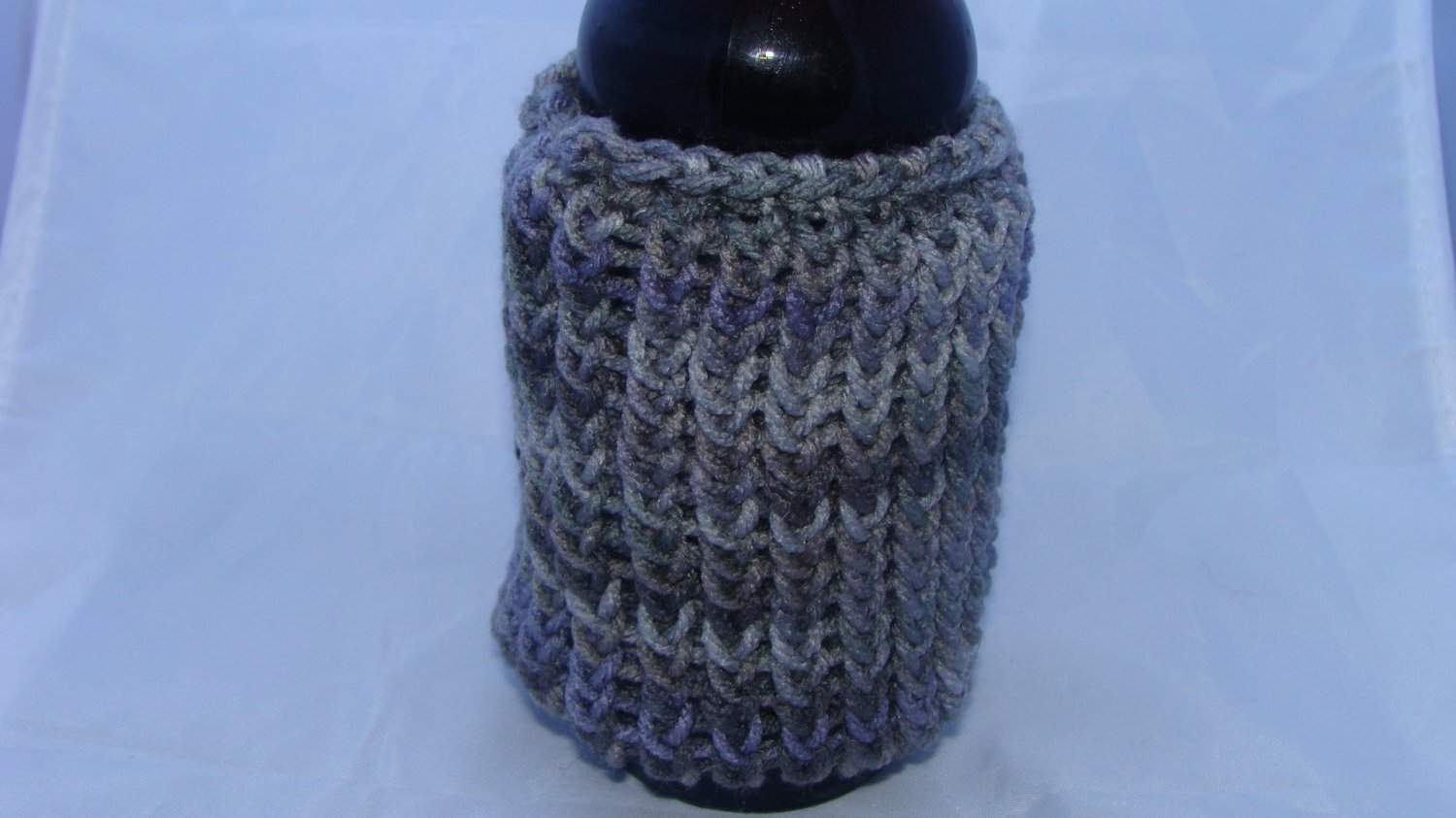 Shades of grey bottle/can koozie