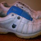 Well Worn K-SWISS Womens Size 7.5 7 1/2 US Crosstrainer Tongue Twister LEATHER