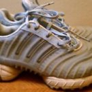 Well Worn adidas Women Size 8 US Runner Made Light blue