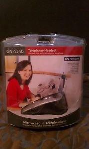 GN Netcom GN4140 Silver/Black Ear-Hook Headset