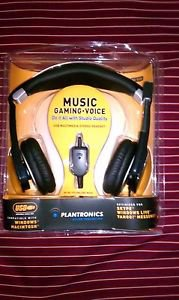 Plantronics .Audio 650 USB Black Headband Headsets OPEN BOX