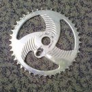 PROFILE SAW BLADE Sprocket 44T Silver Old School BMX Rare