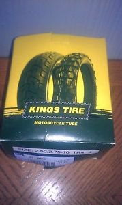 Kings Tire Motorcycle tube 2.50 / 2.75 - 10 TR4 Scooter