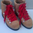 Old School Hiking Boots Nice Teknisport Vibram Wmns 6 1/2 Awesome MADE IN ITALY