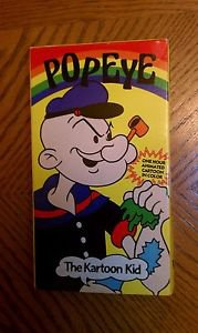 Popeye - The Kartoon Kid (VHS)