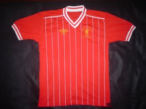 Liverpool 1984 Rome European Cup Shirt