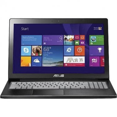 "Asus Q501LA-BBI5T03 15.6"" 1080p Touch-Screen Laptop i5-4200u 1.6GHz CAM 6GB 1TB -4206"