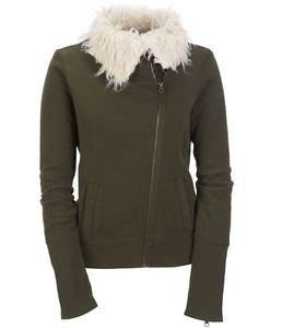 Aeropostale Womens Faux Fur Sherpa Aviator Flight Jacket Winter Coat XXL 2XL New