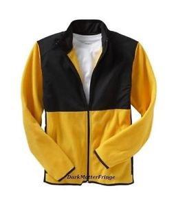 Old Navy Yellow Fleece Athletic Jacket Spring  Windbreaker S Small NEW