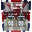BRITISH STERLING Cologne Gift Set Cologne Spray & 2.5 oz After Shave Splash NEW