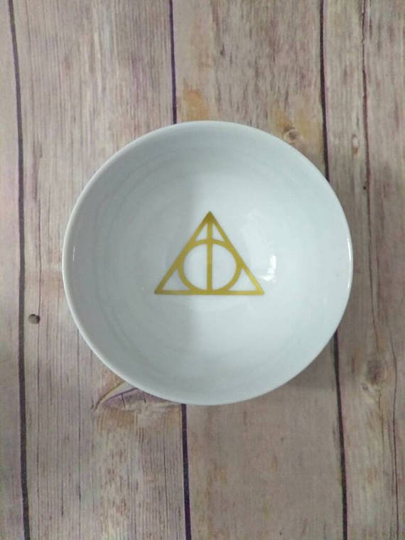Harry Potter Ring Dish -Hyrule Love - Ring Trinket Dish - Always