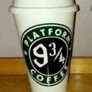 Harry Potter Platform 9 3/4 Reusable Lightweight Plastic Coffee Cup