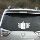"""Bad Wolf decal - TARDIS -  Dr Who decal -5"""" wide   Decal/ Sticker"""