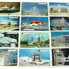 Vintage 1963 New York World's Fair RCA GM Kodak Unused Postcards Cards Lot of 12