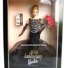 Barbie 40th Anniversary Black Gown Collector Edition Doll Mint New Sealed NRFB