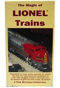 Magic of Lionel O Scale Trains Layout TM Tom McComas Video VHS Hudson Santa Fe