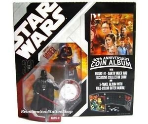 Star Wars 30th Anniversary Darth Vader Collectors Coin Album MOC Mint NIB