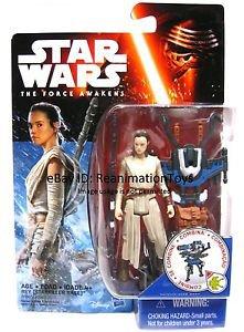 Star Wars The Force Awakens Rey Kenobi Starkiller Base Mint Sealed MOC Brand New