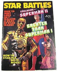 Vintage Spring 1979 Star Battles Superman II Star Wars Galactica Automatons