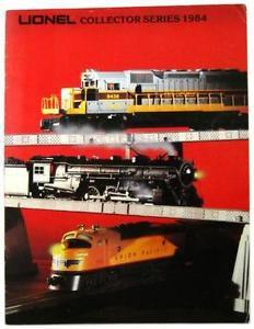 1984 Lionel O Scale Trains & Accessories Catalog Illustrate Guide 8404 8480 8458