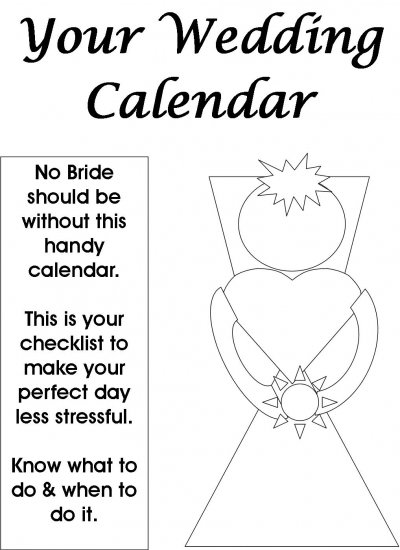 Your Wedding Calendar (ebook)