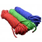 50 feet Dia. 8mm Cores Paracord for Survival Parachute Cord Lanyard Climbing Hiking Rope