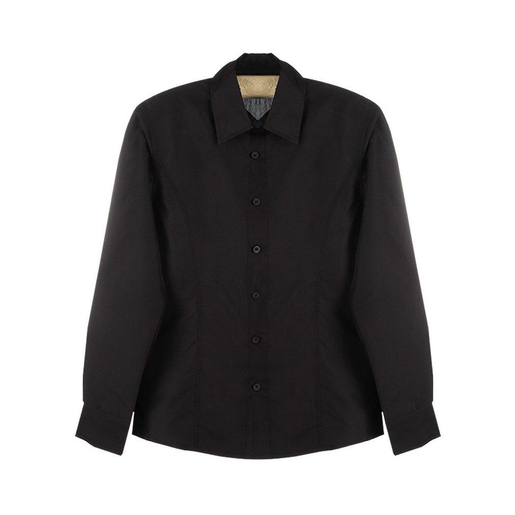 New Luxury Fashion Slim Fit Men's Long-Sleeve Lapel Casual Dress Shirt   H5
