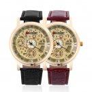 New Fashion Hot Casual Watch Quartz Watch Leather Strap Wristwatch #W