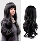 New Fashion Lovely Women Girl Wig Long Wavy Curly Hair Cosplay Party Wigs HS