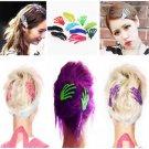 10 PCs Cute Creepy Plastic Skeleton Hand Hair Clip Hairpin for Women Girls HS