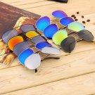 Elegant Men Women Eyewear Fashion Aviator Reflective Sports Sunglasses HS