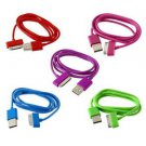 USB Charger Sync Data Cable for iPad2 3 iPhone 4 4S 3G 3GS iPod Nano Touch CA