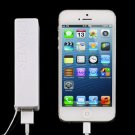 Power Bank External Portable USB Battery Charger for iPhone 5/5S Samsung 4/3 @*