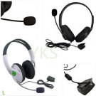 Live Big Headset Headphone With Microphone for XBOX 360 Xbox360 Slim NEW HS