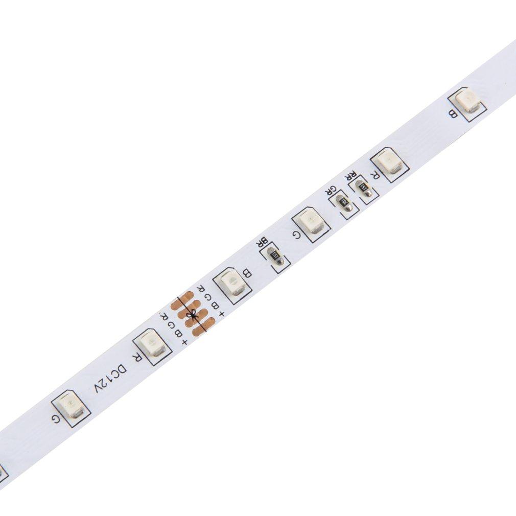 10M 600LEDS 3528 SMD RGB 2X 5M LED light strip + 44 Key IR Remote Controller #&